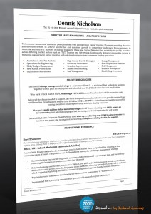 how to write a resume 2